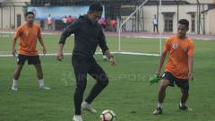 Indosport - Seto Nurdiyantoro ikut berlatih bersama PSS Sleman