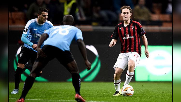 Alen Halilovic saat memperkuat AC Milan. Copyright: Getty Images