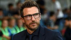 Indosport - Eusebio Di Francesco, pelatih AS Roma.