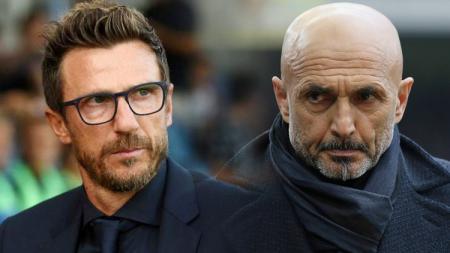 Eusebio Di Francesco dan Luciano Spalletti - INDOSPORT