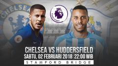 Indosport - Prediksi pertandingan Chelsea vs Huddersfield Town