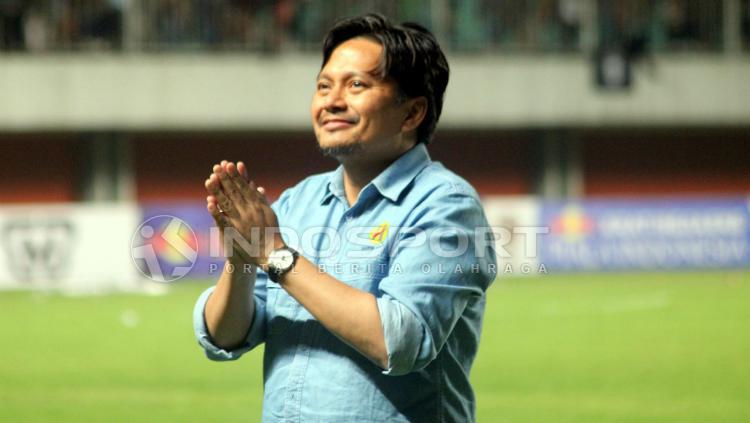 Manajer Barito Putera, Hasnuryadi Sulaiman. Copyright: Ronald Seger Prabowo/INDOSPORT