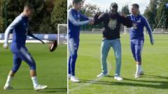Indosport - Eden Hazard Juggling