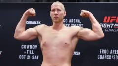 Indosport - Adam Wieczorek ptarung UFC