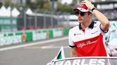 Indosport - Charles Leclerc pembalap Formula 1 bersama tim Ferrari 2019