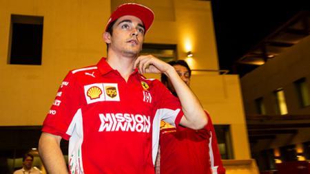 Charles Leclerc ungkap tantangannya menjadi seorang pembalap tim Ferrari. - INDOSPORT