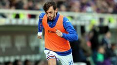 Indosport - Manolo Gabbiadini, pemain Sampdoria yang terkena virus corona.