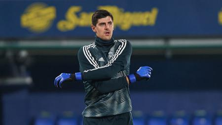 Thibaut Courtois, kiper Real Madrid. - INDOSPORT