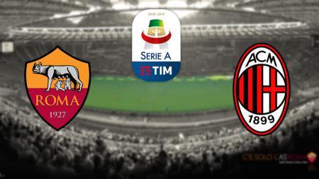 AS Roma vs AC Milan - INDOSPORT