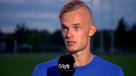 Striker Timnas Estonia Tristan Koskor - INDOSPORT