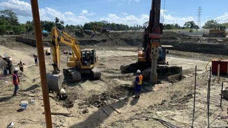Pembangunan venue Aquatik PON XX di Papua - INDOSPORT