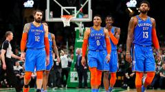 Indosport - Oklahoma City Thunder beberkan target untuk NBA musim depan.