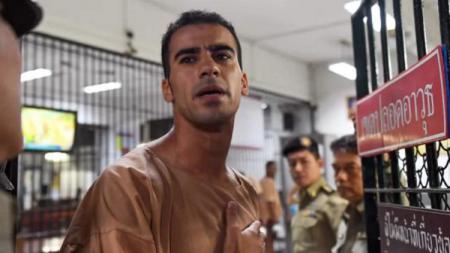 Pemain sepak bola asal Bahrain tengah berjuang menolak ekstradisi ke negaranya. - INDOSPORT