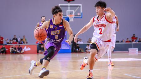 CLS Knight vs Singapore Slingers - INDOSPORT