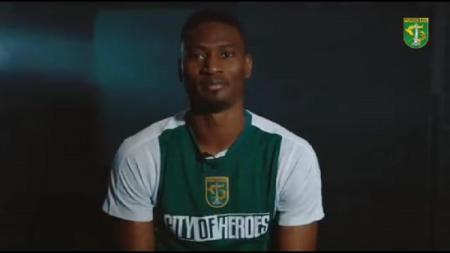 Striker asing baru Persebaya, Amido Balde. - INDOSPORT