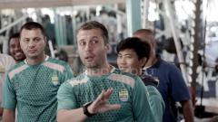 Indosport - Miljan Radovic, pelatih Persib Bandung.