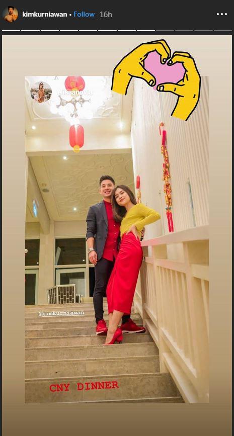 Kim Kurniawan dan Elisabeth Novia Makalew Copyright: Kim Kurniawan