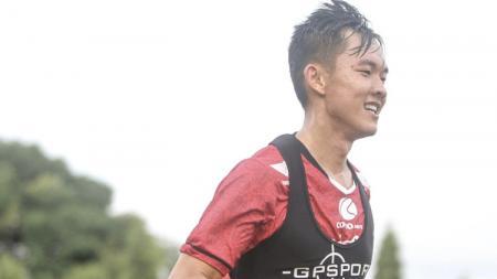 Sutanto Tan saat menjalani latihan bersama Bali United. - INDOSPORT