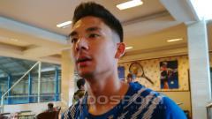 Indosport - Gelandang Persib Bandung, Kim Jeffrey Kurniawan.