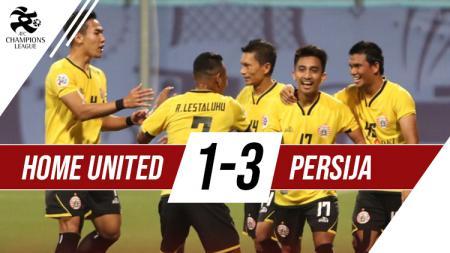 Home United 1-3 Persija Jakarta - INDOSPORT