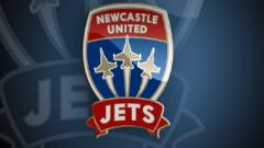Indosport - Logo Newcastle Jets