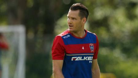Kapten New Castel Jets FC, Nigel Boogaard. - INDOSPORT