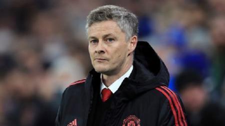 Manajer interim Manchester United, Ole Gunnar Solskjaer. - INDOSPORT