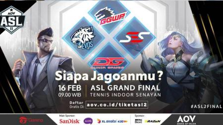 Grand Final ASL Season 2. - INDOSPORT