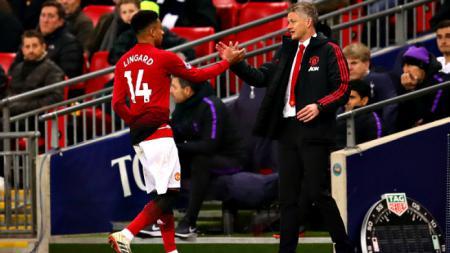 Jesse Lingard jadi korban Manchester United agar bisa turunkan Amad Diallo alias Lionel Messi muda di Liga Inggris. - INDOSPORT