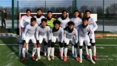 Indosport - Skuat tim Garuda Select di Inggris.