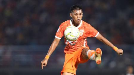 Striker andalan Borneo FC, Lerby Eliandry. - INDOSPORT