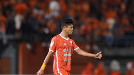 Pemain Borneo FC, Ulul Azmi. - INDOSPORT