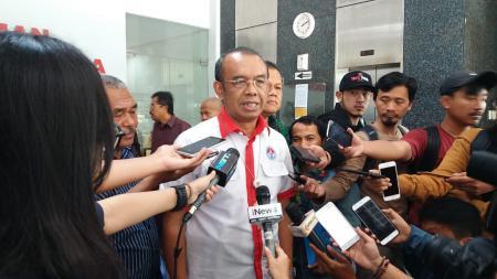 Sekretaris Kemenpora (Sesmenpora), Gatot S. Dewa Broto angkat bicara soal polemik wakil Indonesia di AFC 2021. - INDOSPORT