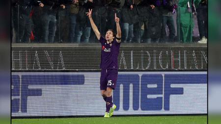 Minat pelatih klub Serie A Inter Milan, Antonio Conte terhadap Federico Chiesa tak terbendung sehingga menyiapkan formasi demi menampung bintang Fiorentina itu. - INDOSPORT