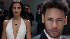 Indosport - Neymar dikabarkan tengah dekat dengan seorang model asal Turki