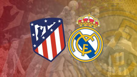 Atletico Madrid vs Real Madrid - INDOSPORT