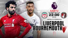 Indosport - Pertandingan Liverpool vs Bournemouth.