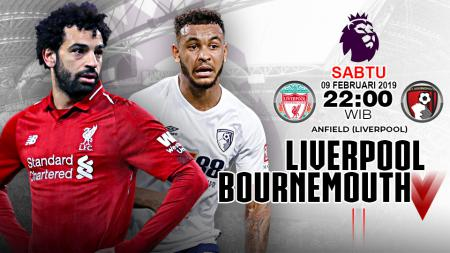Pertandingan Liverpool vs Bournemouth. - INDOSPORT