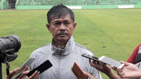 Pelatih Timnas Indonesia U-22, Indra Sjafri, menaruh harapan besar kepada PSSI yang kini berusia 89 tahun. - INDOSPORT