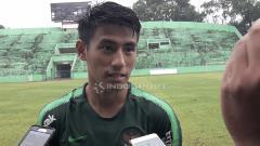 Indosport - Pemain Timnas Indonesia U-22 dan Arema FC, Hanif Abdurrauf Sjahbandi.