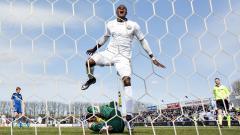 Indosport - Washington Brandao mendapatkan peluang gagal di depan gawang.