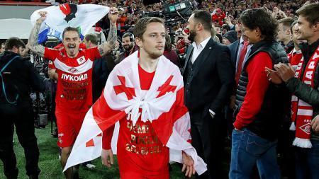 Pemain Spartak Moskva, Jano Ananidze. - INDOSPORT