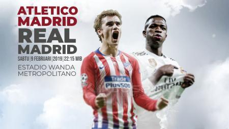 Prediksi Atletico Madrid vs Real Madrid - INDOSPORT