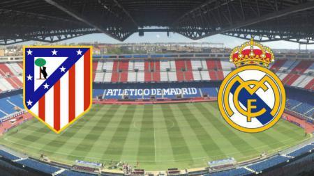 Pertandingan Derby Madrid: Atletico Madrid vs Real Madrid - INDOSPORT