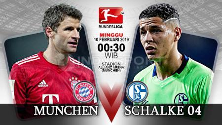 Pertandingan Bayern Munchen vs Schalke 04. - INDOSPORT