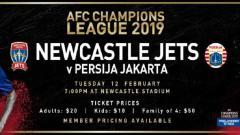 Indosport - Newcastle jets vs Persija Jakarta