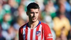 Indosport - Striker pinjaman Atletico Madrid, Alvaro Morata.