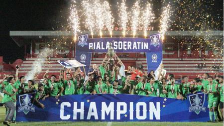 Persebaya U-17 menjuarai Piala Soeratin 2019. - INDOSPORT