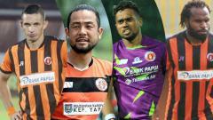 Indosport - Silvio Escobar, Kunihiro Yamashita, Samuel Reimas, dan Septinus Alua