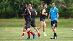 Indosport - Latihan PSM Makassar di Yogyakarta